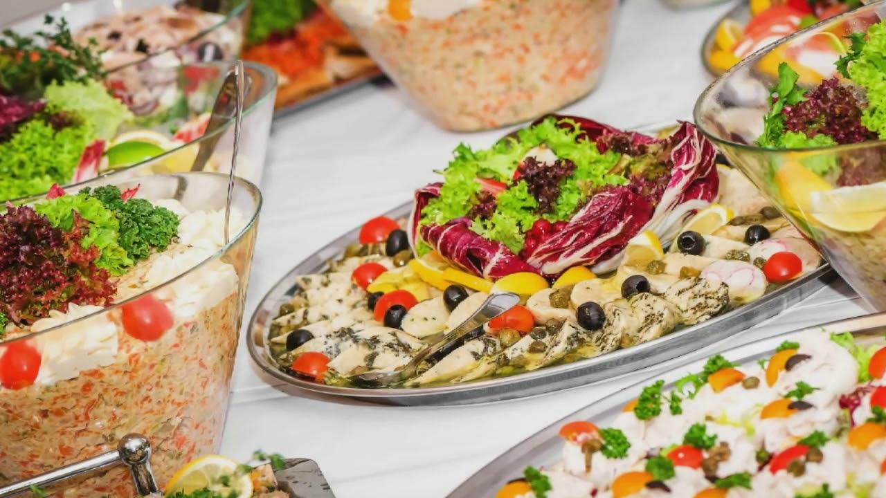świąteczne Potrawy Boże Narodzenie Stół Pełen Jedzenia