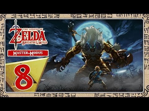 🔴 THE LEGEND OF ZELDA BREATH OF THE WILD [MASTER-MODE] Part 8 Attacke auf Vah Rudania!