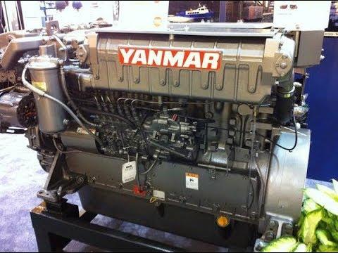 YANMAR DIESEL ENGINE 650HP, 6HYM-WET