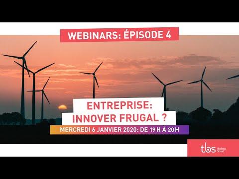 TBS webinaire - Entreprise : Innover frugal ?