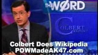 Colbert Vs. Wikipedia