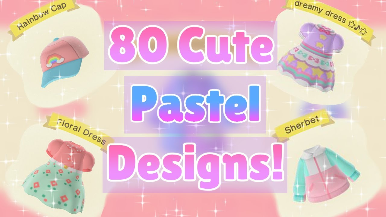 80 Cute Pastel Outfits Animal Crossing New Horizons
