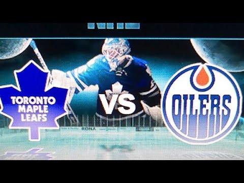 Toronto vs Edmonton