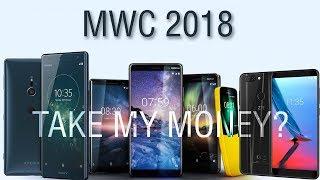 MWC 2018: Sony XZ2, Nokia 8 Sirocco и 7 Plus, помои от Alcatel и смартфон Vivo, который не купят