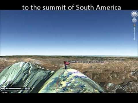 Climb Aconcagua in 3D - South America's highest mountain