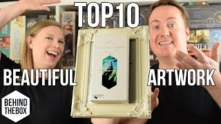 Top 10 Games with Great Artwork - Behind the Box