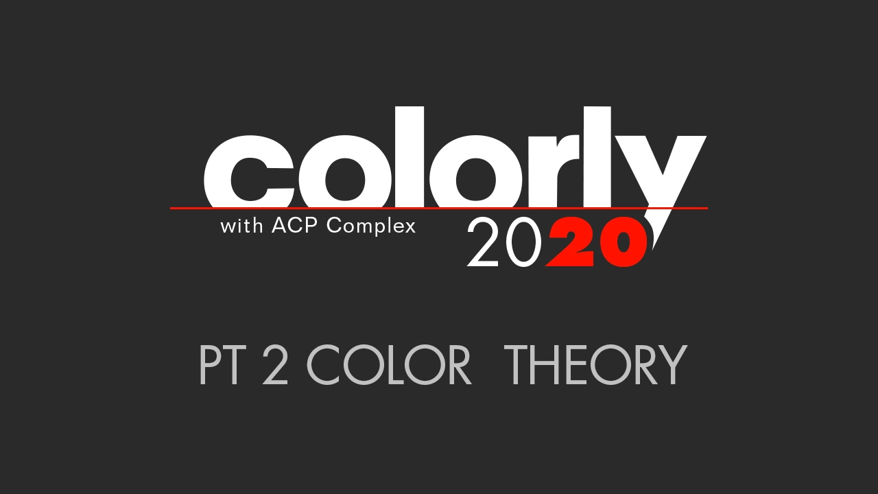 Colorly 2020 Color Theory Youtube
