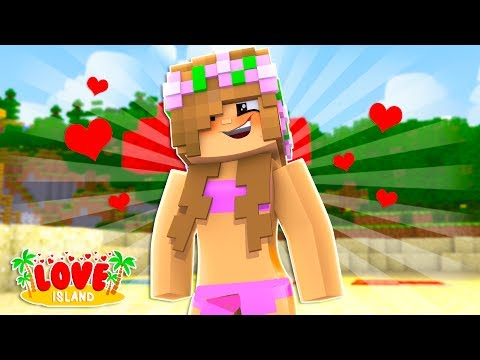 LITTLE KELLY JOINS LOVE ISLAND! Minecraft Love Island #1 | Custom Roleplay
