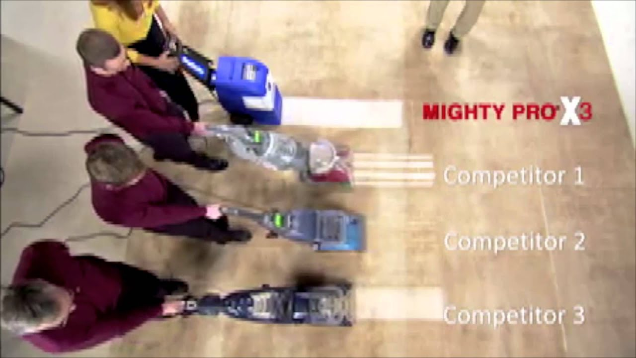 Rug Doctor Mighty Pro X3 Commercial   What Makes The Mighty Pro X3 So  Great?   YouTube