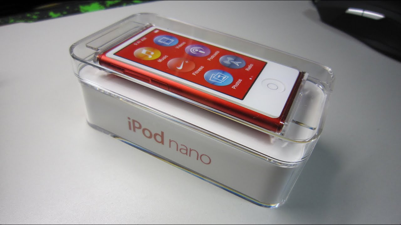Ipod Nano 7g : apple ipod nano 7g youtube ~ Aude.kayakingforconservation.com Haus und Dekorationen
