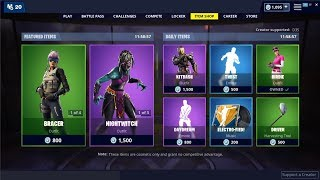 Nightwitch Skin - Daydream Emote Back! Fortnite Item Shop 16 mai 2019