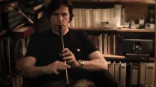 """Slow Air"" on Dixon low-D Tin Whistle"