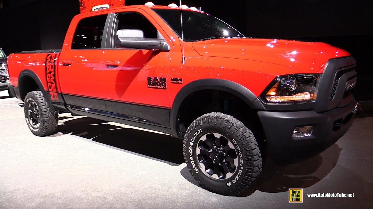2017 Ram 2500 Power Wagon Exterior And Interior Walkaround Debut At 2016 Chicago Auto Show