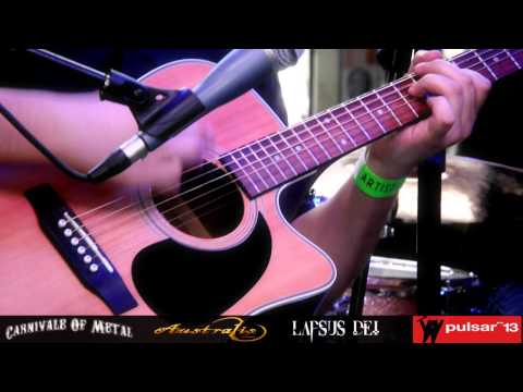 LAPSUS DEI - The Meeting (Acoustic) - Pulsar 2013 (CAM AUDIO)