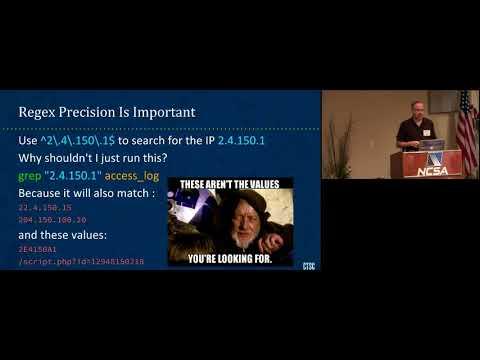 Using awk to analyze Bro logs by Mark Krenz