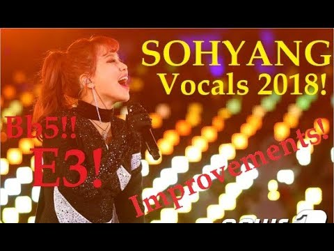 Sohyang 소향 Best Vocals 2018 (Is she better now?)