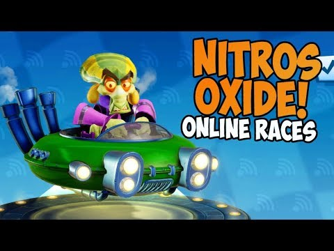NITROS OXIDE! | Crash Team Racing: Nitro Fueled - Online Races #23