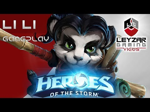Heroes of the Storm (Gameplay) - Li Li Ideal Starter Support (HotS LiLi Gameplay Quick Match)