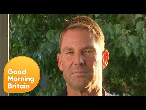 Shane Warne Thinks The Ball Tampering Penalty Is Unfair | Good Morning Britain