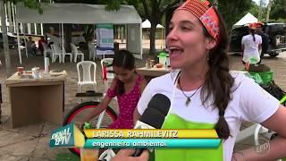 Bike Ybá na Globo (EPTV) - Virada Sustentável Campinas - 02.12.2017