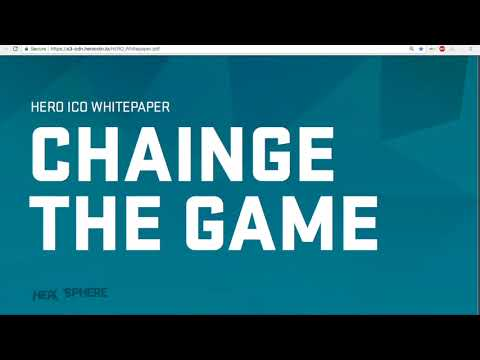 HERO COIN - A Decentralized Online Betting Token.