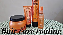 Proffessional Hair care routine  Matrix shampoo and spa review