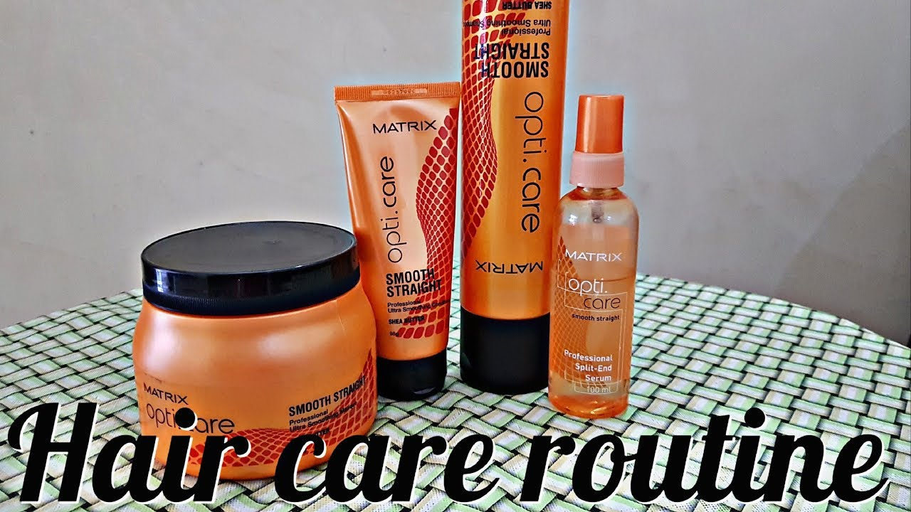 Proffessional Hair Care Routine Matrix Shampoo And Spa Review Youtube