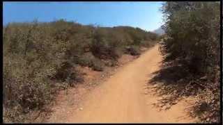 Mountain Biking Sycamore Canyon - Overlook Trail [GoPro Hero 2]