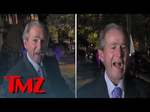 George W. Bush -- Kanye For President? That's Pretty Damn Funny | TMZ