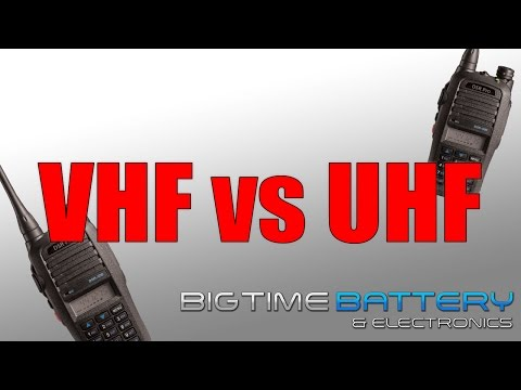 VHF vs UHF - What's the difference