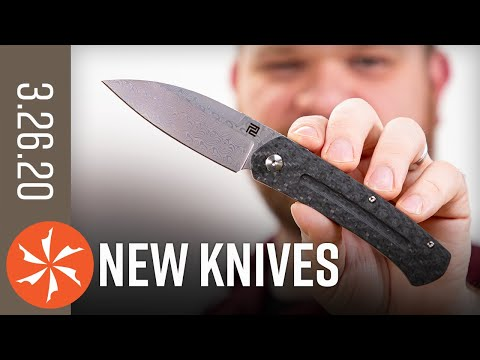 New Knives for the Week of March 26th, 2020 Just In at KnifeCenter.com