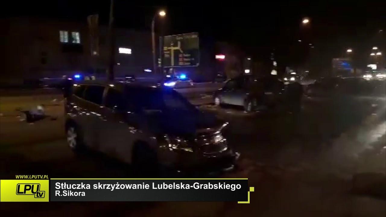 26-03-2018 Stłuczka skrzyżowanie Lubelska-Grabskiego - Mamy to od Was