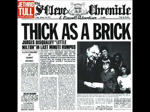 Jethro Tull - Thick as a Brick (BINAURAL SURROUND)