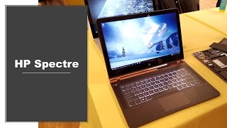 New HP Spectre Hands-on [Thinnest Laptop]