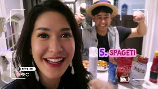 TVLOG - Makan Spaghetti Pake Kimchi Ala Elma Agustin (26/4/19) Part 2
