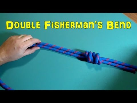 Double Fisherman's Bend - Knots For Rescue And Climbing