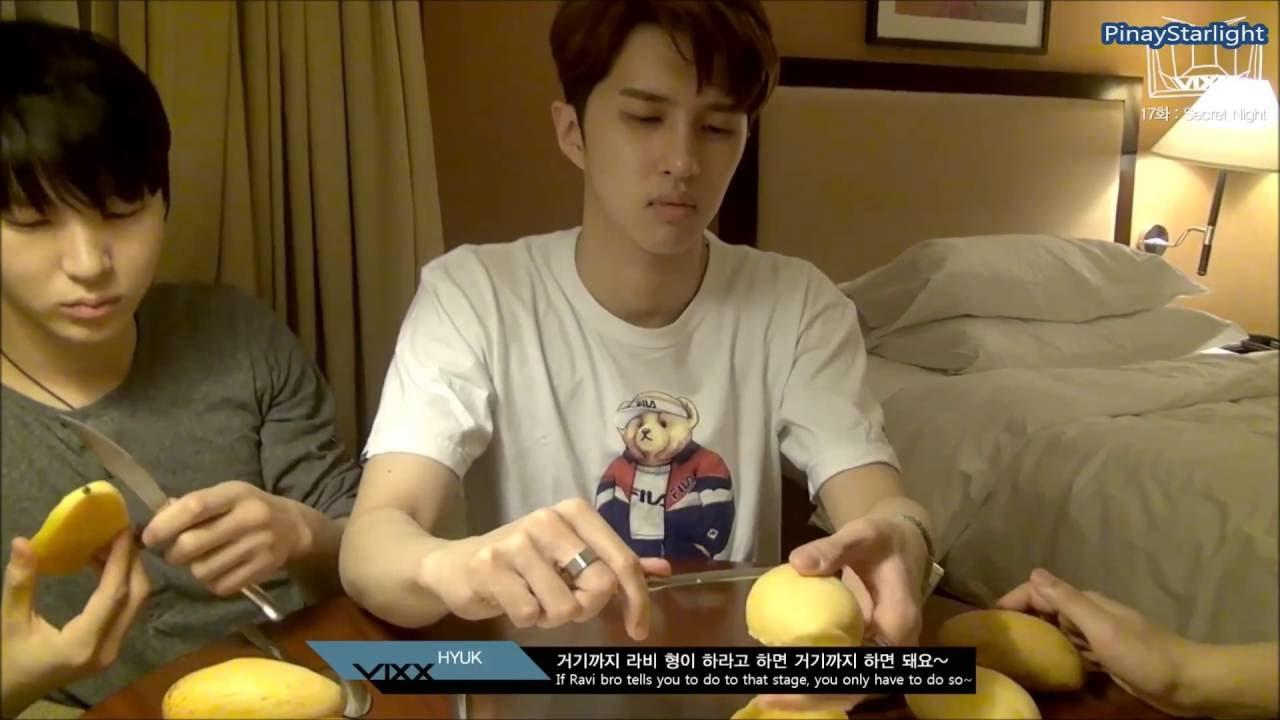 3 (vixx Eating Philippine Mango)