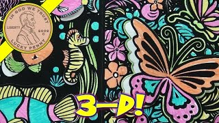 Pop Velvet 3D Art Kit, Creative Kids - I Draw Butterflies