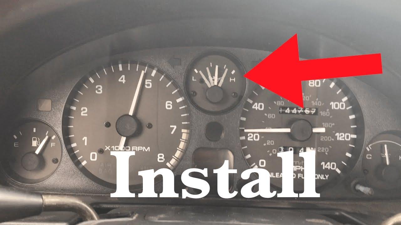 miata oil pressure sender install