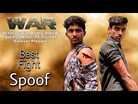 Download Hrithik vs Tiger fight scene in war movie | War movie scene spoof | Hrithik Roshan, Tiger Shroff #FF