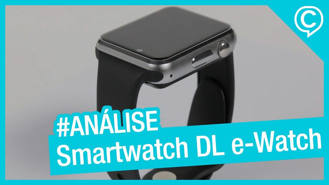 324eb906991 Análise Smartwatch DL e-Watch - Relógio inteligente com função celular