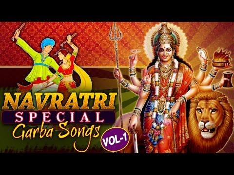Navratri Special Songs Vol-1   Non-Stop Garba Songs    Navratri Garba - Audio Jukebox