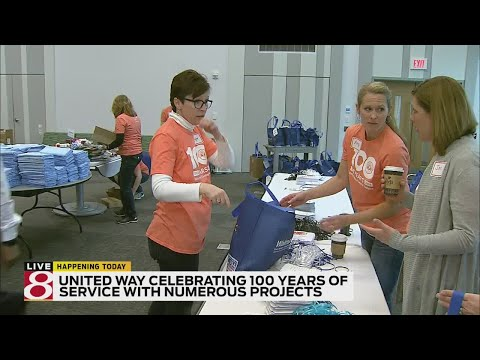 United Way celebrates 100 years in central Indiana with hour of impact