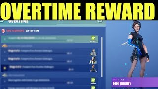 Free Overtime Rewards in Fortnite (Complete all OVERTIME CHALLENGES) Season 9