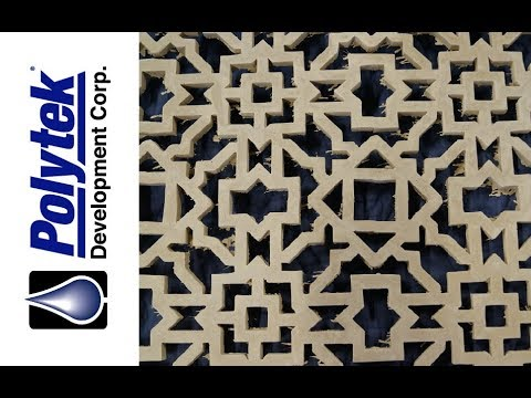 How to Bend or Warp Decorative Concrete in Rubber Molds