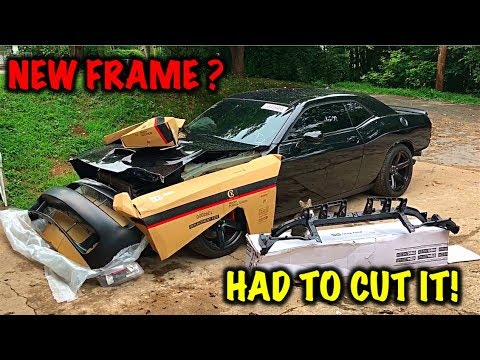 Rebuilding A Wrecked 2017 Dodge Hellcat Part 2