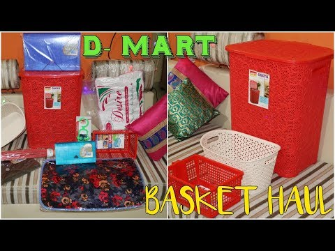 D Mart Cheap Baskets and Home Decor Haul | D Mart Cheapest basket haul | SuperStylish Namrata |