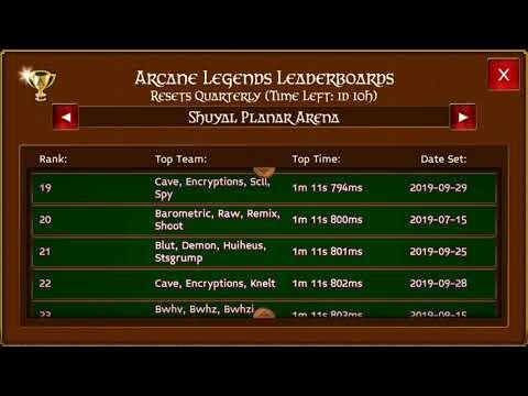 Arcane Legends Planar Arena Lb And 100 Planar Chests Opening