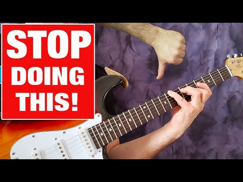 Stop Playing the Same Stuff on Guitar!! (NOT GOOD)