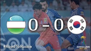 Uzbekistan vs Korea Republic (2018 FIFA World Cup Qualifiers)